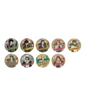 Bungou Stray Dogs Bunbougu Cafe Goods Can Badge Type B BLIND PACKS