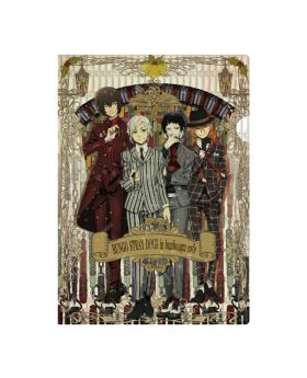 Bungou Stray Dogs Bunbougu Cafe Goods Key Visual Clear File