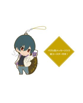 Free! Birthday Series Link Up Smile! Goods Rubber Strap and Coaster Set Ikuya