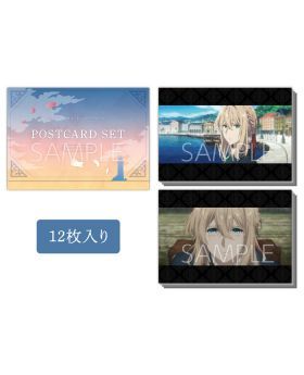 Violet Evergarden KyoAni Shop Postcard Set Movie Ver.