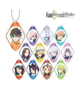 Fate/Grand Order Absolute Demonic Battlefront: Babylonia Ani-Art Acrylic Keychain SET