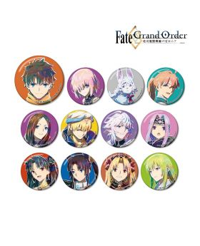 Fate/Grand Order Absolute Demonic Battlefront: Babylonia Ani-Art Can Badge SET
