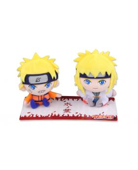 Naruto Jump Shop Goods Naruto And Minato Plush Set