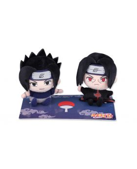 Naruto Jump Shop Goods Sasuke And Itachi Plush Set