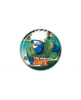Naruto Jump Shop Goods Collection Can Badge Kakashi