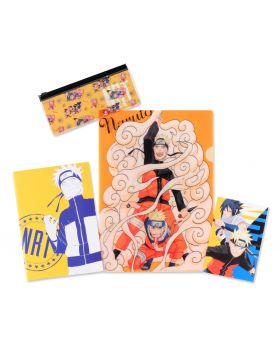 Naruto Jump Shop Goods Stationary Set