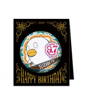Gintama Jump Shop 2019 Birthday Can Badge Elizabeth