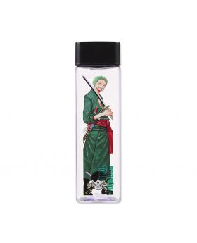 One Piece Jump Shop Square Clear Bottle Roronoa Zoro
