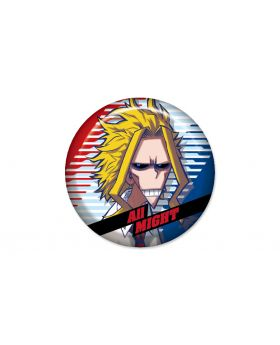 Boku No Hero Academia Jump Shop Chubby Can Badge All Might