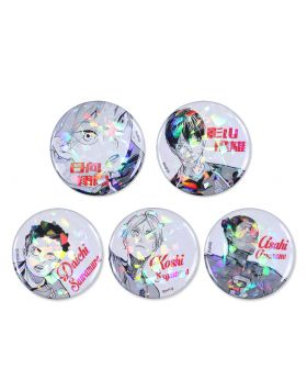 Haikyuu!! Jump Shop Goods Exclusive Holographic Can Badge Vol. 1