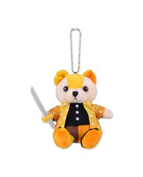 Kimetsu No Yaiba Jump Shop Spring 2020 Goods Bear Plush Zenitsu