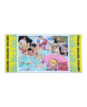 One Piece Jump Shop Full Color Big Towel The Magnet Characters
