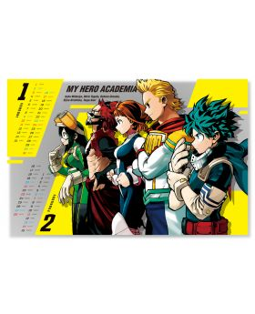 Boku No Hero Academia Jump Shop 2021 Calendar