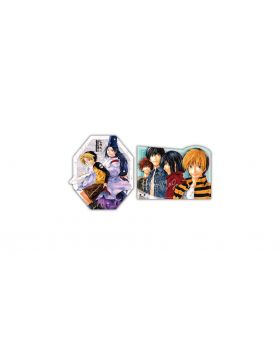 Hikaru No Go Jump Shop Die-Cut Sticker Set