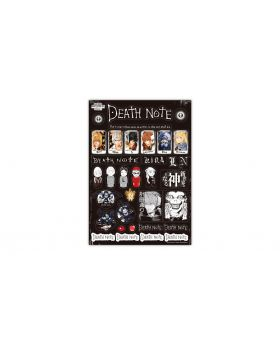 Death Note Jump Shop Schedule Sticker Sheet