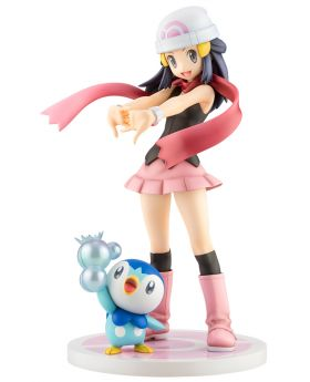 Pokemon ARTFX-J Starter Series Dawn with Piplup Figurine