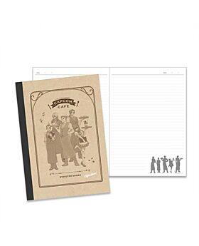 CAPCOM Cafe x Ace Attorney Notebook