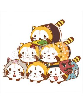 Kimetsu No Yaiba Rascal Collaboration Goods Mochi Kororin Tsum Plush SET