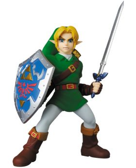 The Legend of Zelda: Ocarina of Time UDF Nintendo Series 4 Link Ocarina of Time Ver. Figurine