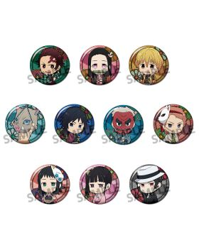 Kimetsu No Yaiba Trading Can Badge SET