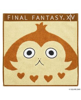 Final Fantasy XIV Square Enix Hand Towel Paissa Brown