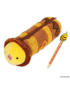 Final Fantasy XIV Square Enix Plush Pen Pouch & Ballpoint Pen Set The Great Serpent of Ronka