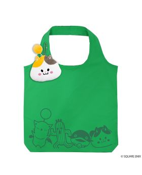 Final Fantasy XIV Square Enix Eco Bag with Pouch Fat Cat