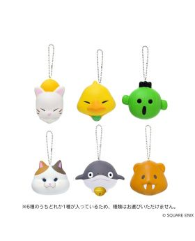 Final Fantasy XIV Square Enix Minion Squishy Keychain Collection BLIND PACKS