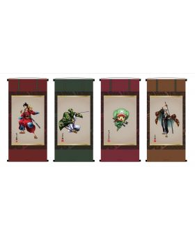One Piece KirieArt Hanging Scroll Style Tapestry