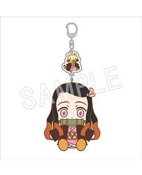 Kimetsu No Yaiba Rascal Collaboration Goods Keychains Nezuko