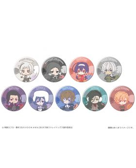 Bungou Stray Dogs Canaria Ponipo Can Badge Vol. 2 SET