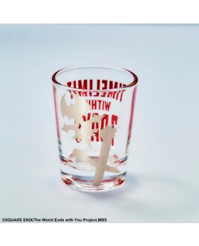The World Ends With You the Animation Square Enix Goods Shot Glass Skull