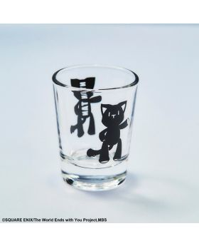 The World Ends With You the Animation Square Enix Goods Shot Glass Mr. Mew