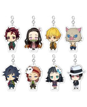 Kimetsu No Yaiba Movic Color Collection Acrylic Charm Vol. 1 SET