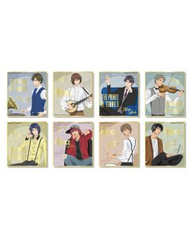 The New Prince of Tennis POMMOP Mini Illustration Board Collection SET