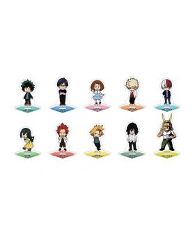 Boku No Hero Academia Movic Puchitto Acrylic Stand SET
