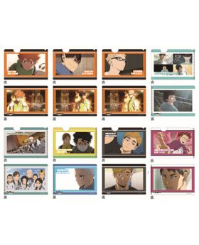 Haikyuu!! To The Top Broccoli Mini Clear File with Postcard Vol. 1 SET
