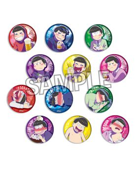 Osomatsu-san Not Going Home Tonight PROOF Goods Can Badge SET