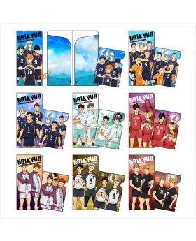 Haikyuu!! To The Top Avengers Mini Clear File Collection SET