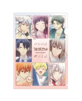 Fruits Basket Crux Single Clear File Type A