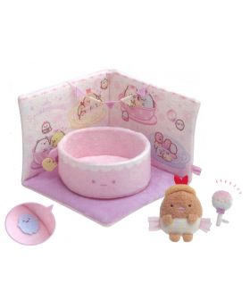 San-X Sumikkogurashi Tapioka Park Collection Scene Plush Set