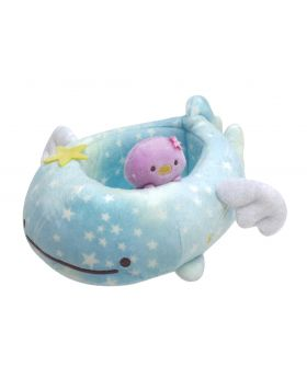 Jinbei-san San-X Starry Sky Penguin Goods Plush Box Container
