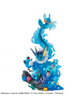 Pokemon G.E.M. Series Water Type Dive To Blue Figurine