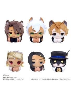 Twisted Wonderland Plex Hug Character Collection Plush Keychain Vol. 2 SET