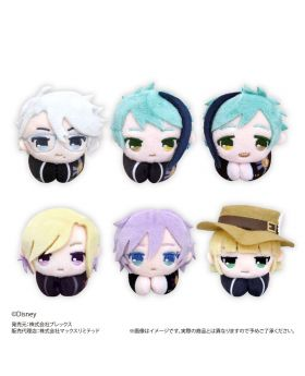 Twisted Wonderland Plex Hug Character Collection Plush Keychain Vol. 3 SET