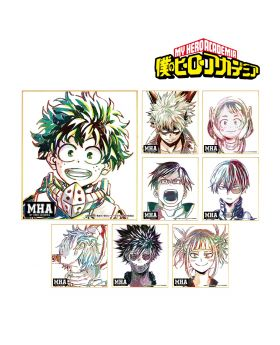 Boku No Hero Academia armabianca Ani-Art Mini Illustration Board Vol. 2 SET