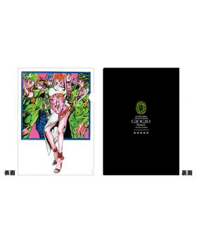 JoJo's Bizarre Adventure Golden Wind Jump Festa 2020 Clear File