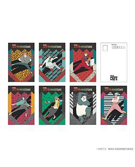 Jujutsu Kaisen Cafe Goods Post Card SET