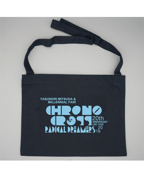 Chrono Cross Radical Dreamers 20th Anniversary Concert Goods Logo Sacoche Bag