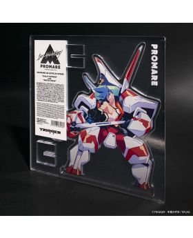 PROMARE TRIGGER Exclusive 4D Giant Acrylic Stand Galo Thymos and Matoi Tech